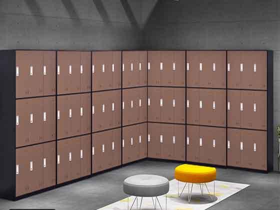 公寓储物柜铁皮-办公室文件柜-品源文件柜