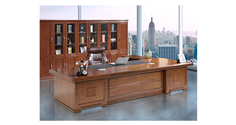 办公桌老板桌大班台-班台-品源班台