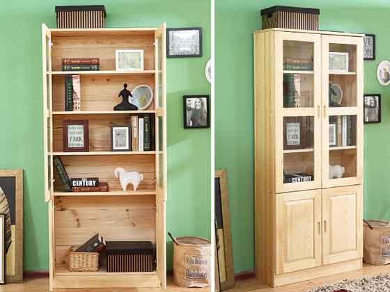 总裁书柜定制-办公文件柜-品源文件柜