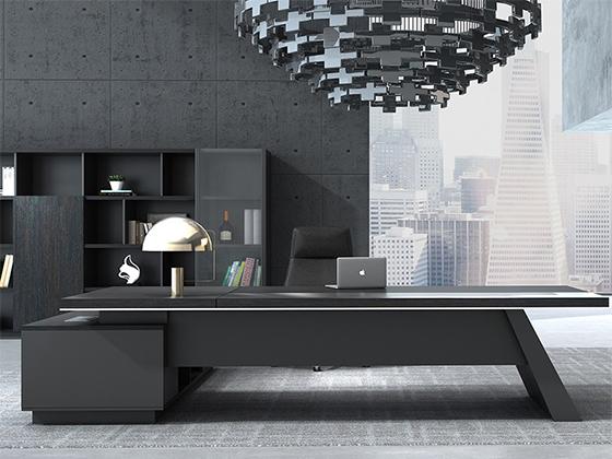 高档总裁桌-办公室班台-品源办公室班台