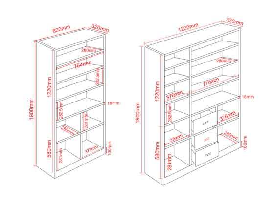 办公室文件柜尺寸尺寸-办公室文件柜-品源文件柜