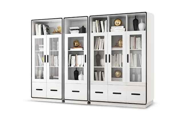 办公室定制置物架_办公室置物架_办公室置物柜