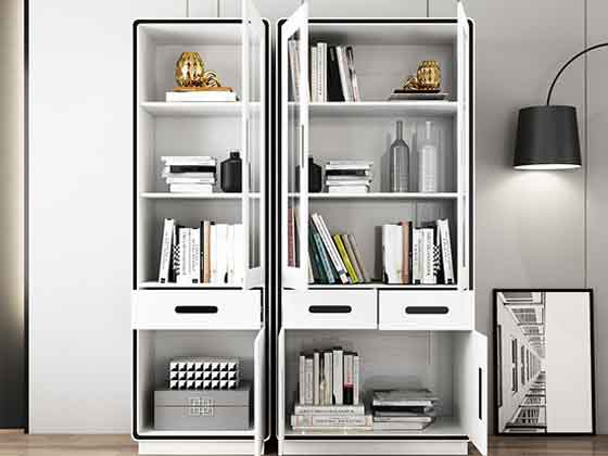 办公室定制置物架-文件柜定制-品源文件柜