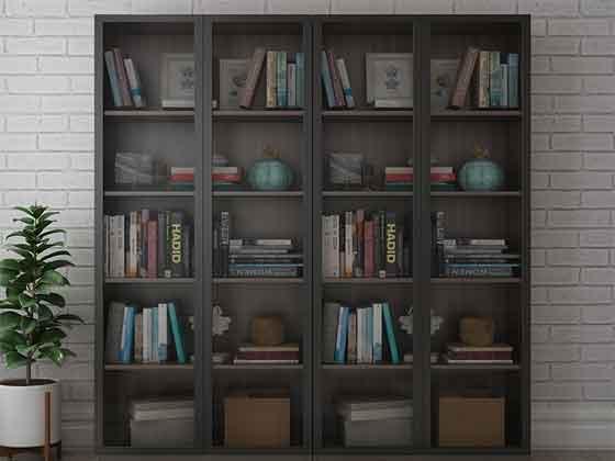 组合式储物柜-办公室文件柜-品源文件柜