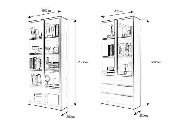 组合式储物柜尺寸-办公室文件柜-品源文件柜