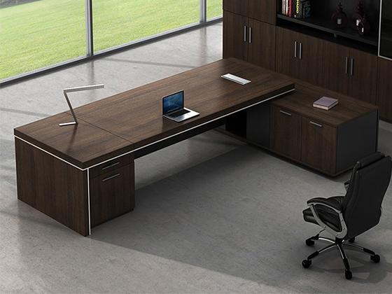 木制老板桌-班台尺寸-品源班台