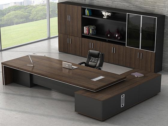 木制老板桌-班台-品源班台
