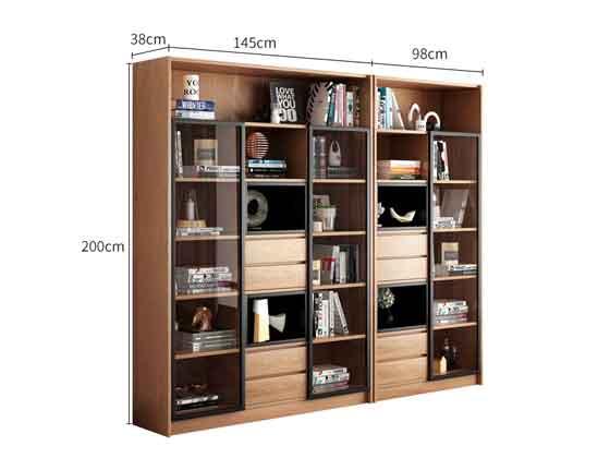 组合落地储物柜尺寸-办公室文件柜-品源文件柜