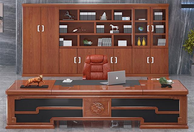 中式老总桌_新中式老板桌_中式老板办公桌尺寸