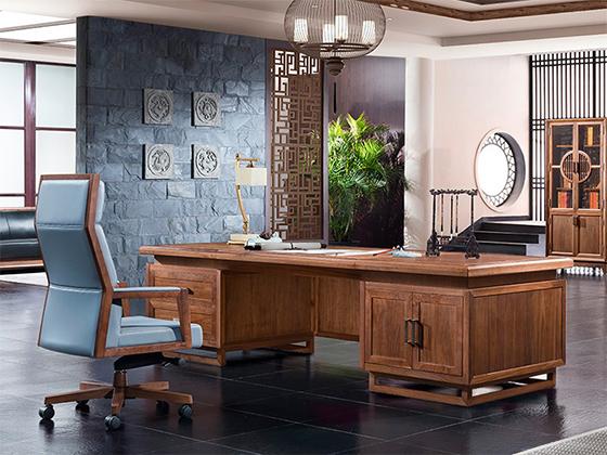 老板桌款式-办公室班台-品源办公室班台