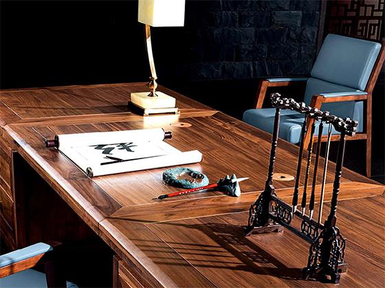 老板桌规格-班台定制-品源班台