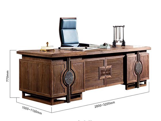 老板桌价格及款式尺寸-班台-品源班台