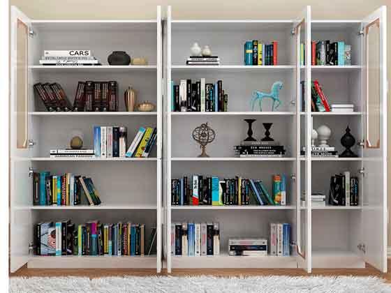 老板办公室书柜-办公文件柜-品源文件柜