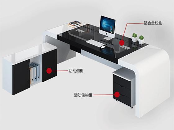 大班台办公桌-班台-品源班台
