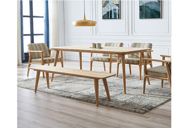 长方形实木会议桌 现代简约※会议