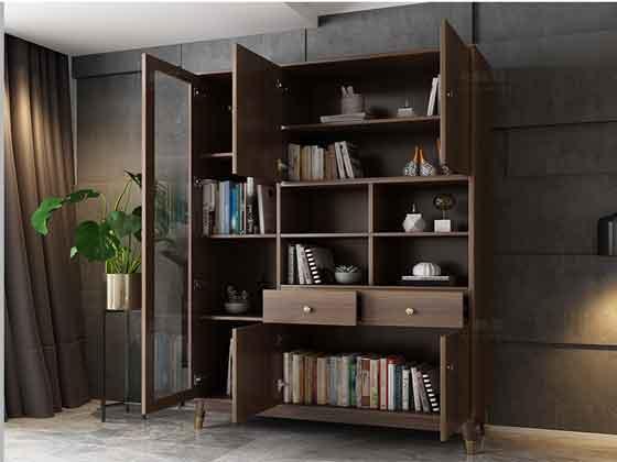 董事长办公室书柜定制-文件柜定制-品源文件柜