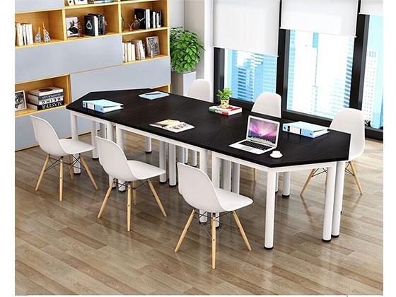 创意拼接洽谈会议桌-会议桌尺寸-品源会议桌