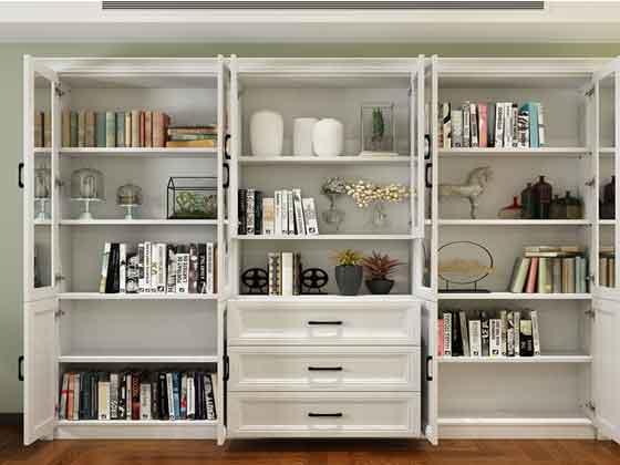 老总办公室书柜-办公文件柜-品源文件柜