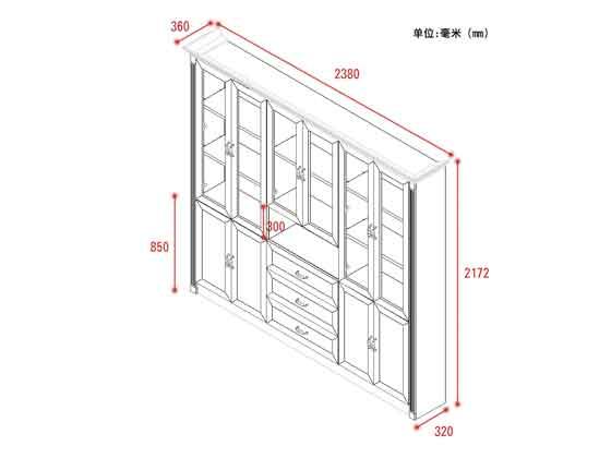 老总办公室书柜尺寸-办公室文件柜-品源文件柜