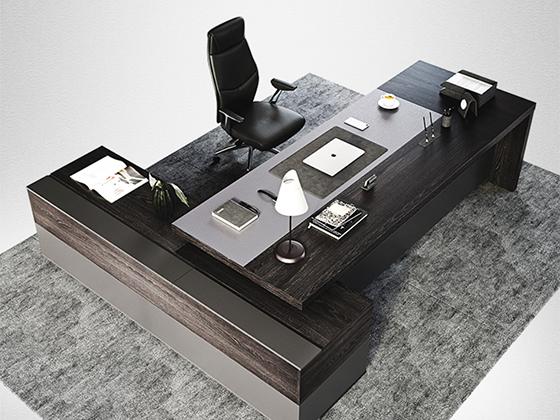 董事长办公室办公桌-班台-品源班台