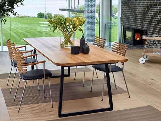 实木喷漆会议桌-办公室会议桌-品源办公室会议桌