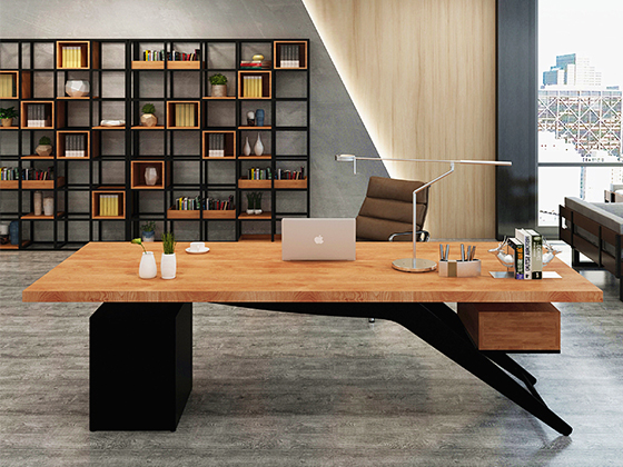 办公室老板桌-班台定制-品源班台
