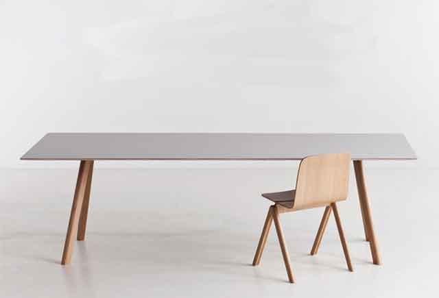 新款实木油漆会议台 实木办公会议桌