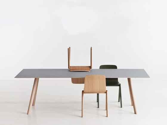 新款实木油漆会议台-办公室会议桌-品源办公室会议桌