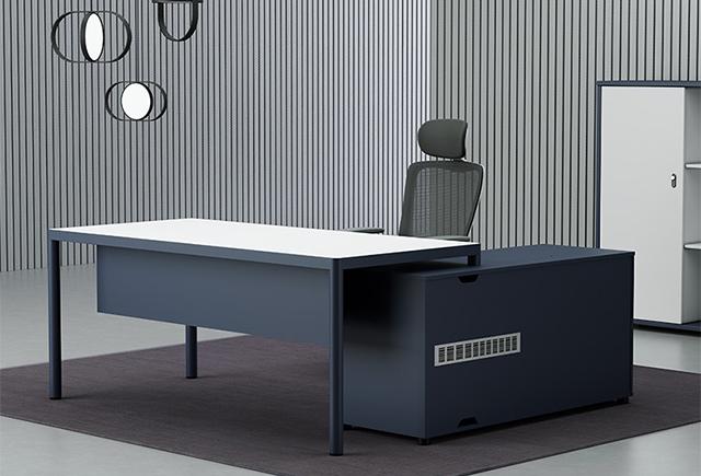 P型大班台_p时尚现代老板桌
