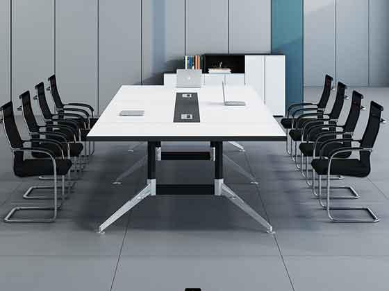 板式时尚会议桌-办公室会议桌-品源办公室会议桌