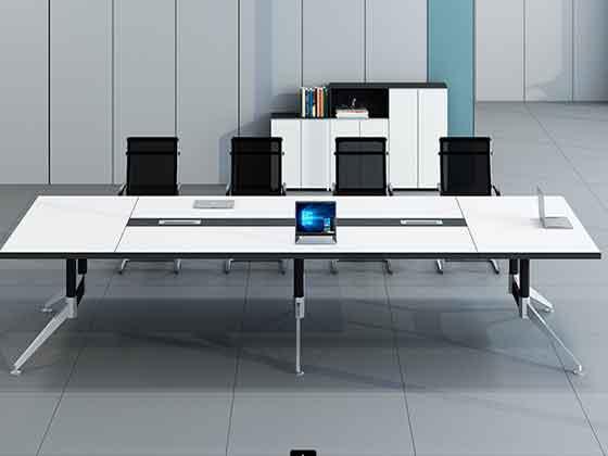 现代简约高档会议桌 -会议桌尺寸-品源会议桌
