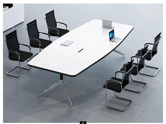 板式现代简约高档办公桌-会议桌定制-品源会议桌