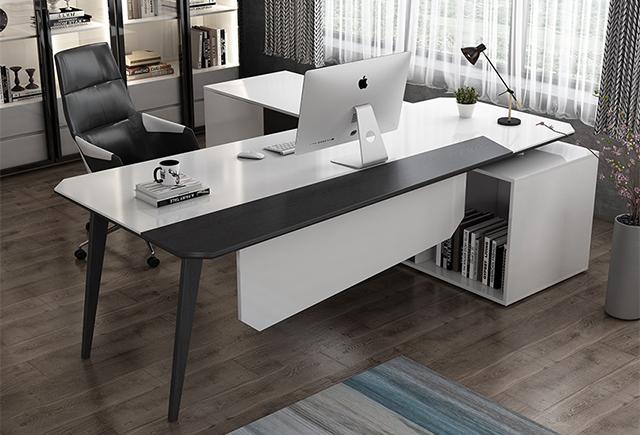 L型老板桌_L型班台
