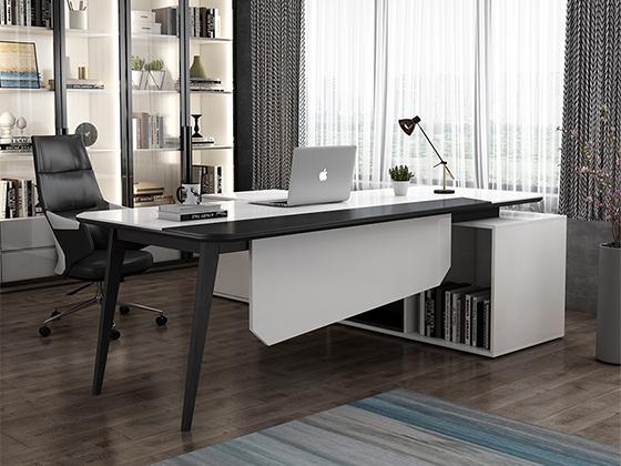L型班台-办公室班台-品源办公室班台