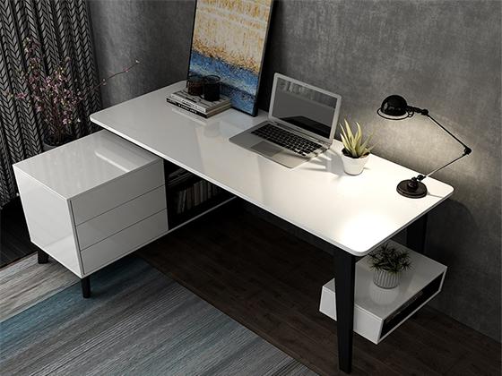 老板台办公桌-班台尺寸-品源班台