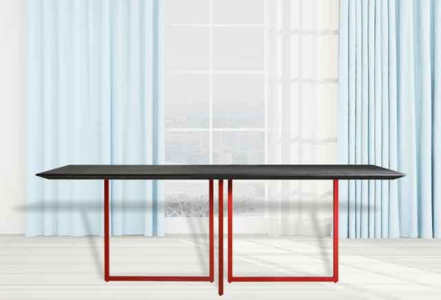 新中式办公室会议桌_新中式会议桌