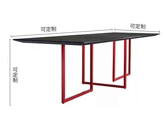 新中式会议桌尺寸-会议桌-品源会议桌