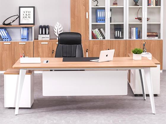 总裁桌-办公室班台-品源办公室班台