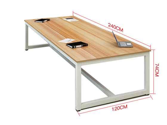 烤漆会议桌尺寸-会议桌-品源会议桌