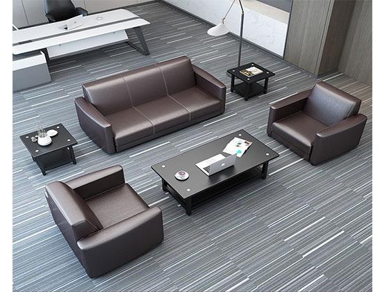 真皮现代沙发-办公室沙发-品源办公沙发