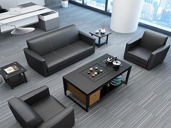 真皮现代沙发-沙发厂家-品源办公沙发