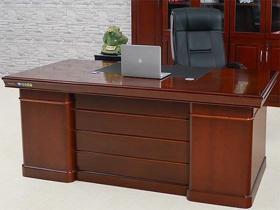 双人办公老板桌-班台-品源班台