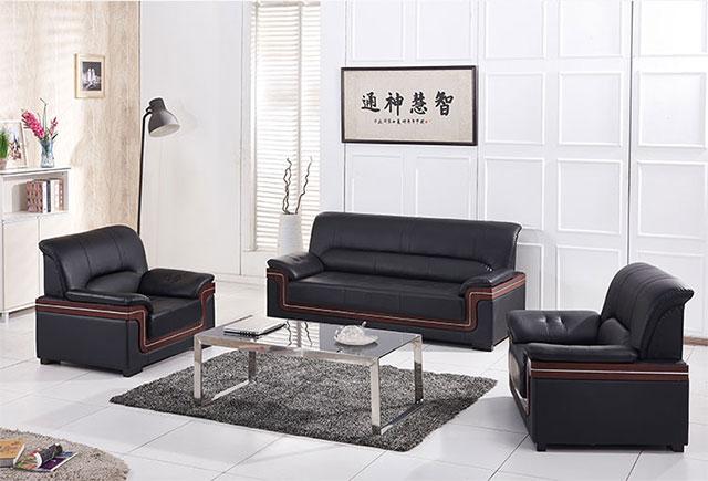 上海定做沙发包真皮_上海真皮组合沙发 WSF015