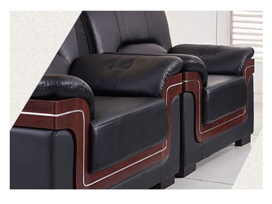 上海定做沙发包真皮-办公室沙发-品源办公沙发