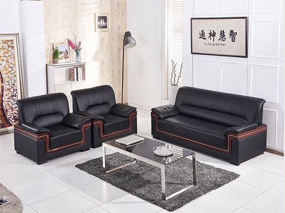 上海真皮组合沙发-沙发定制厂家-品源办公沙发