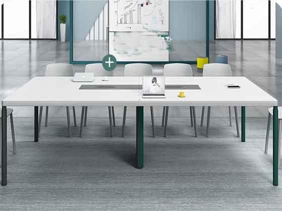 实木多功能会议桌-办公室会议桌-品源办公室会议桌