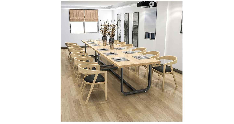 现代简约会议桌-会议桌-品源会议桌