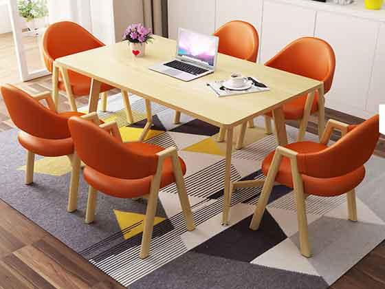 实木会议桌-办公室会议桌-品源办公室会议桌