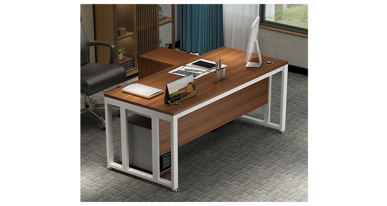 单人电脑办公桌-班台-品源班台