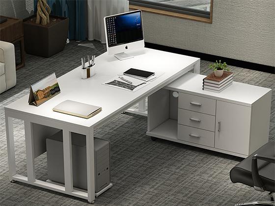 单人办公桌的尺寸-办公室班台-品源办公室班台